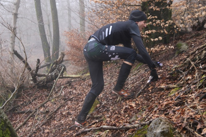 climb, climb, climb - this is orienteering in Ticino